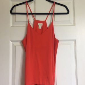 H & M conscious collection T-back tank top size 6